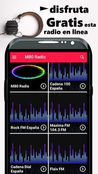 M80 Radio Gratis España Radio screenshot 1