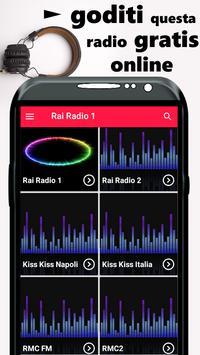 Rai Radio 1 App Italia poster