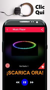 Rai Radio 1 App Italia screenshot 1