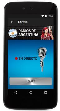 Argentina Radio Stations online - argentina fm am screenshot 3