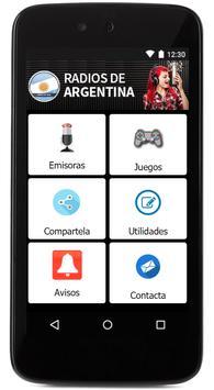 Argentina Radio Stations online - argentina fm am screenshot 1