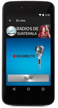 Todas las radios de Guatemala FM gratis! screenshot 3
