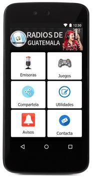 Todas las radios de Guatemala FM gratis! screenshot 1