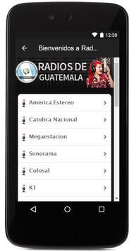 Todas las radios de Guatemala FM gratis! screenshot 2
