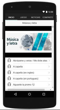 Violetta ++ Música y letra sin internet GRATIS! apk screenshot