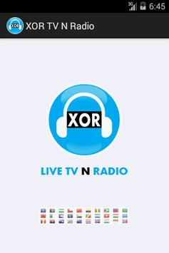 XOR TV N Radio poster
