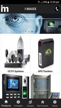 I-MAXX CCTV Biometric EPBAX Get Online poster
