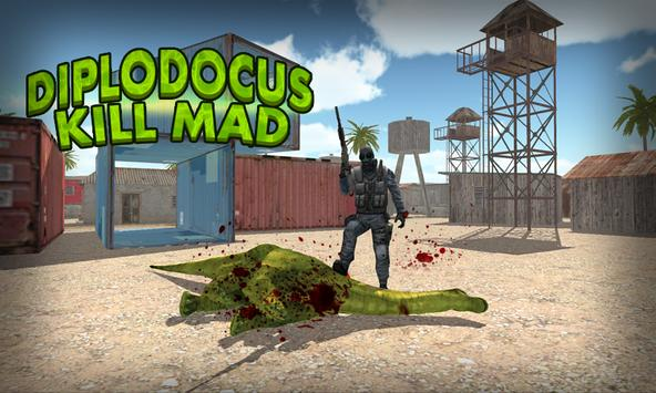 Shoot Mad Diplodcus FPS poster