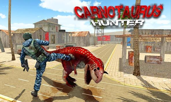 Carnotaurus Hunter poster