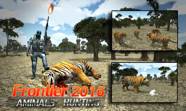 Frontier Animals Hunting 2016 poster