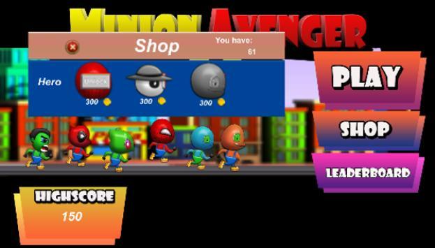 Minion avenger go screenshot 4