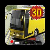 Telolet Bus 3D Traffic Racing icon