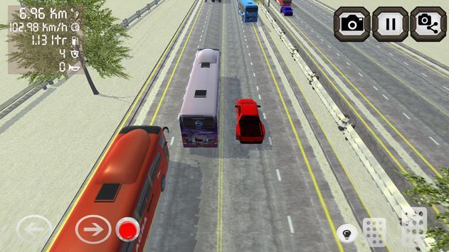 Telolet Bus 3D Traffic Racing poster