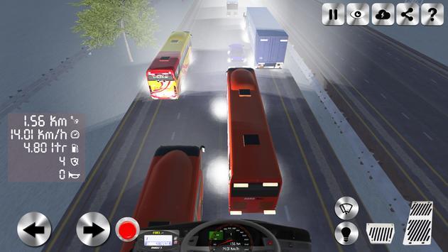 Telolet Bus 3D Traffic Racing apk screenshot