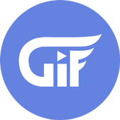 Gif Funny Sender For Messenger icon