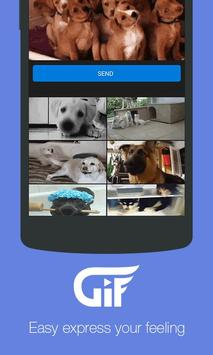 Gif Funny Sender For Messenger apk screenshot