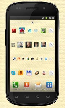 Imgy apps & contacts widgets apk screenshot