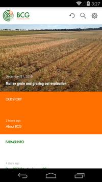 BCG – Birchip Cropping Group poster