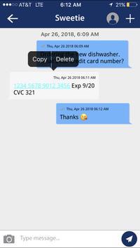 Safe Text apk screenshot