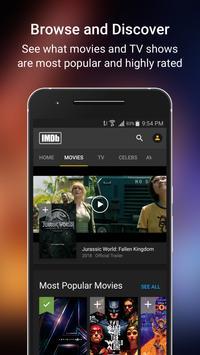 IMDb Movies & TV पोस्टर
