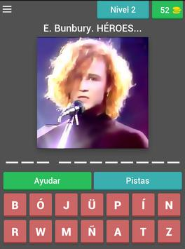 Grupos Españoles Quiz screenshot 9