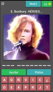 Grupos Españoles Quiz screenshot 2