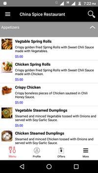 China Spice Restaurant screenshot 1