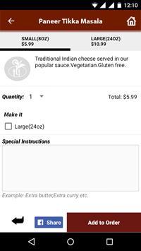 KASI Indian Cuisine screenshot 4