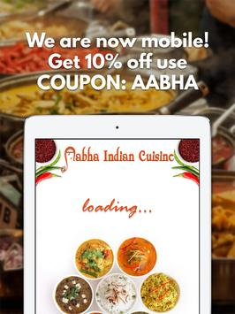 Aabha Indian Cuisine apk screenshot