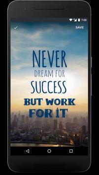 Motivation Quotes Wallpapers screenshot 6