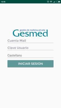 E-GESMED screenshot 1