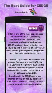 New Guide for ZEDGE Ringtones App apk screenshot