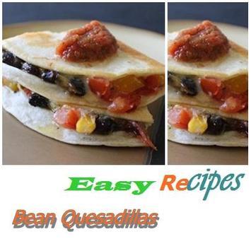 Bean Quesadillas poster