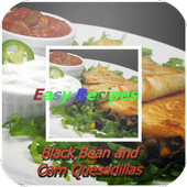 Black Bean & Corn Quesadillas icon