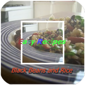 Black Beans and Rice icon