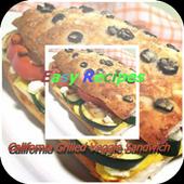Grilled Veggie Sandwich icon