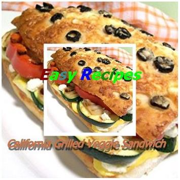 Grilled Veggie Sandwich poster