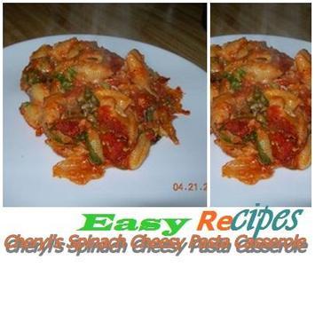 Cheryls Cheesy Pasta Casserole poster
