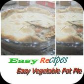 Easy Vegetable Pot Pie icon