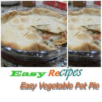 Easy Vegetable Pot Pie poster