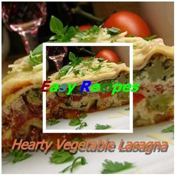 Hearty Vegetable Lasagna poster