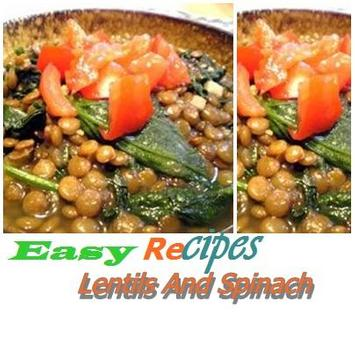 Lentils And Spinach poster