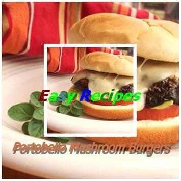 Portobello Mushroom Burgers poster