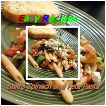 Suki's Spinach and Feta Pasta poster