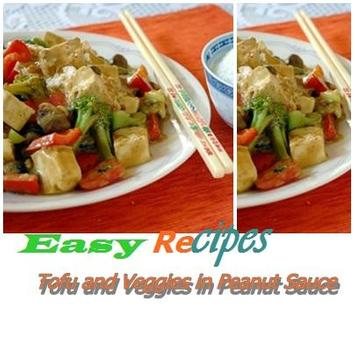 Tofu & sheath in Peanut Sauce poster