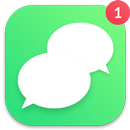 Message for SMS - Messenger style IOS 12 icon