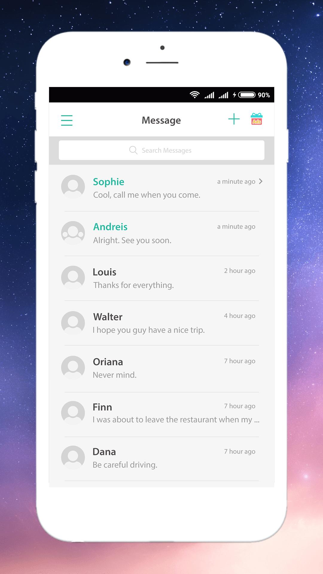 Message for Oppo - Best Oppo SMS Theme for Android - APK Download