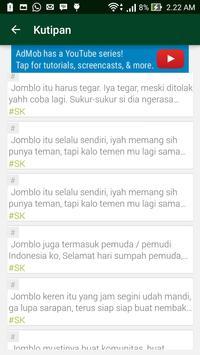 Status Fb Keren Terbaru apk screenshot