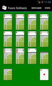 Fours Solitaire screenshot 1