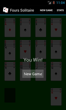 Fours Solitaire screenshot 2